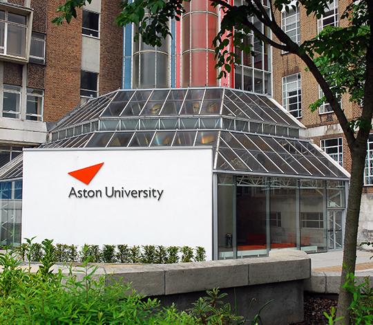 Aston University entrance