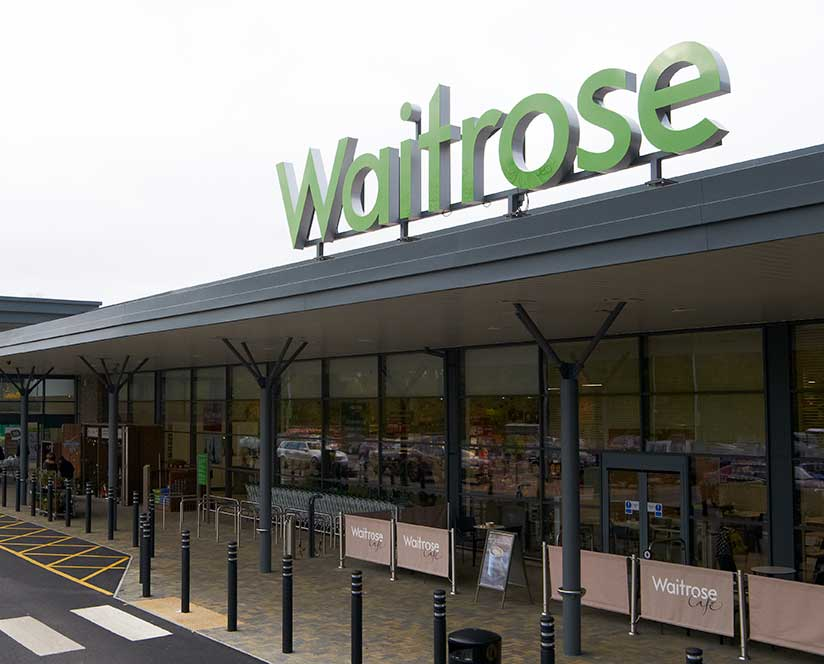 Waitrose shopfront