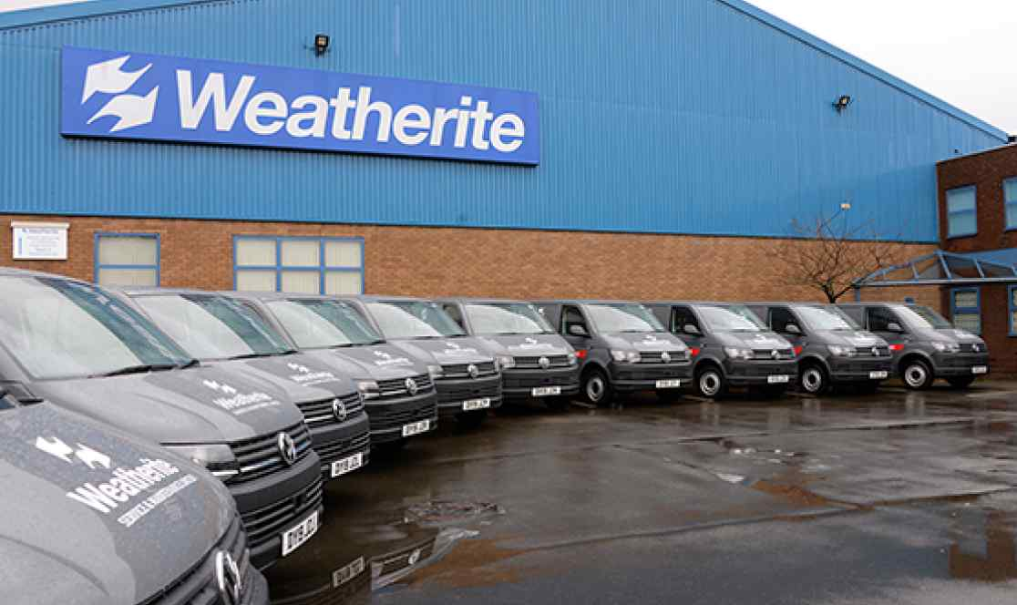 Weatherite fleet of vehicles