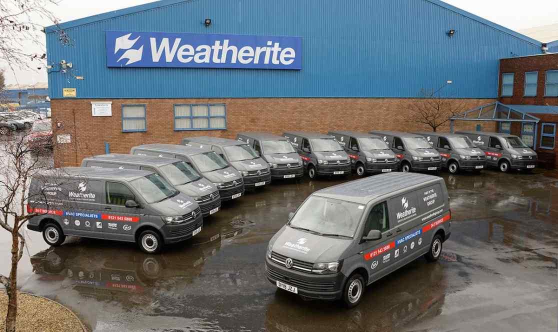 Weatherite building car park